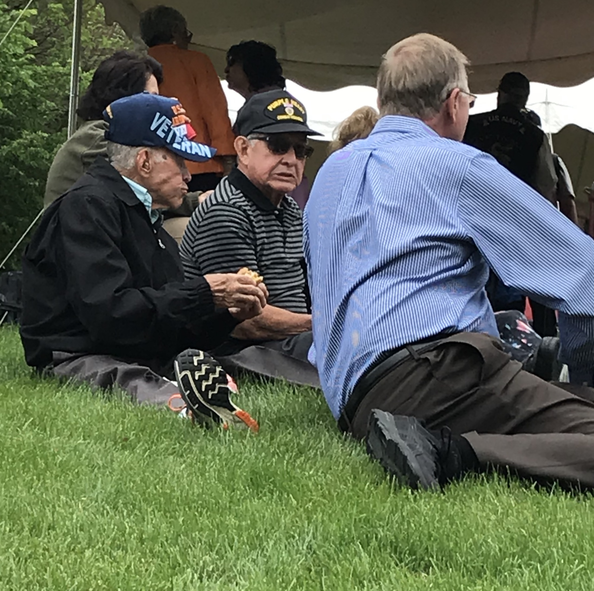 What an honor to be surrounded by so many brave veterans! The Vietnam Veteran memorial dedication wa