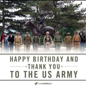 Happy birthday U.S. Army!! 772EDB4F-B38A-4B04-B1CC-D4DB0F015563