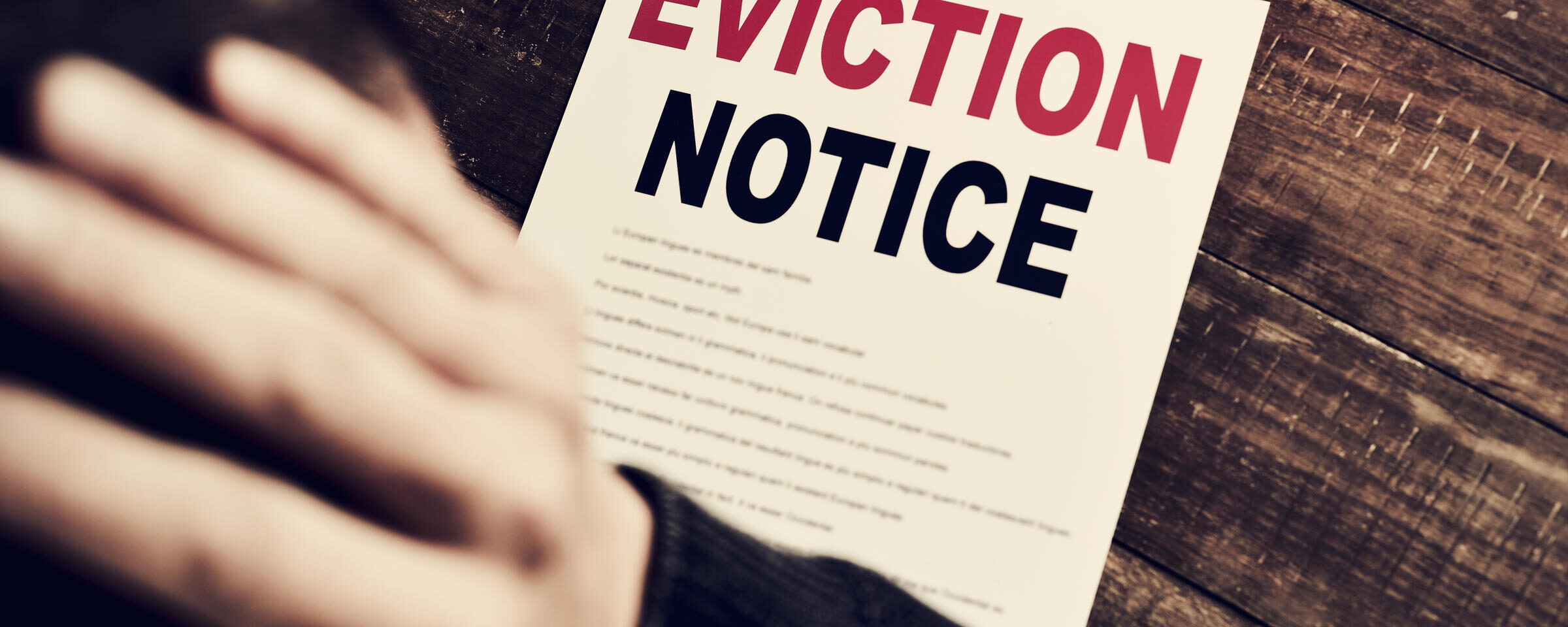 Rent or Eviction
